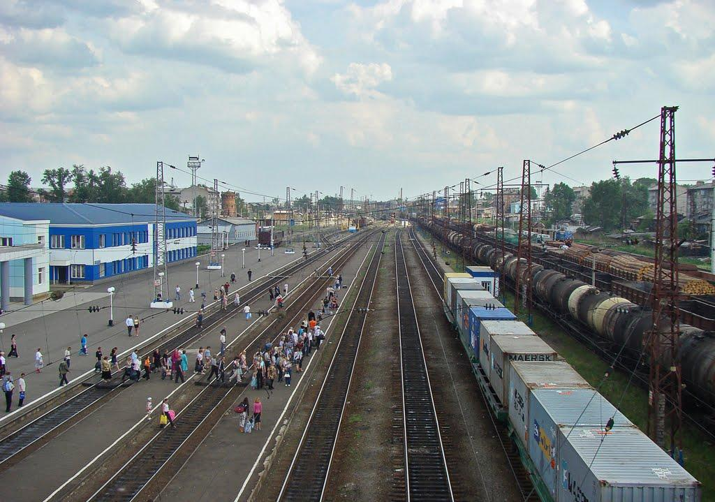 фото железнодорожной станции нижнеудинск прочесть