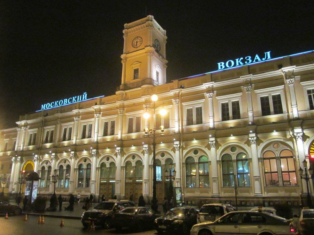 Где находится вокзал в санкт-петербурге